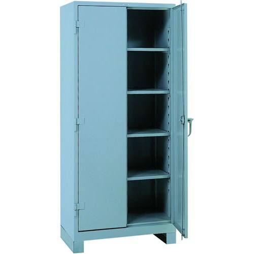 lyon 1115 all welded shelf cabinet four shelves 36 w x 24 d x 82 h. Black Bedroom Furniture Sets. Home Design Ideas