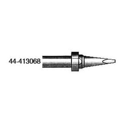 xytronic 44 413068 44 413 series chisel solder tip 047 w x 031 t for hf150 solder iron. Black Bedroom Furniture Sets. Home Design Ideas