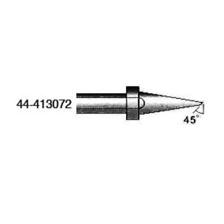 xytronic 44 413072 44 413 series round solder tip dia for hf150 solder iron. Black Bedroom Furniture Sets. Home Design Ideas