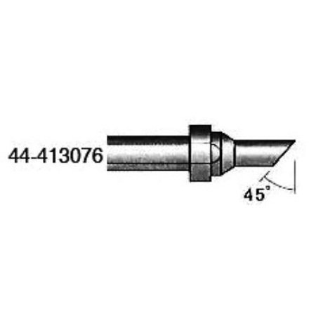 xytronic 44 413076 44 413 series round solder tip w angled face 157 dia w 45 angle for. Black Bedroom Furniture Sets. Home Design Ideas