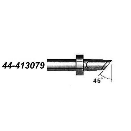 xytronic 44 413079 44 413 series knife solder tip 157 wide w 45 angle for hf150 solder iron. Black Bedroom Furniture Sets. Home Design Ideas
