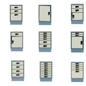 Economy Series Lab Furniture Cabinet Components