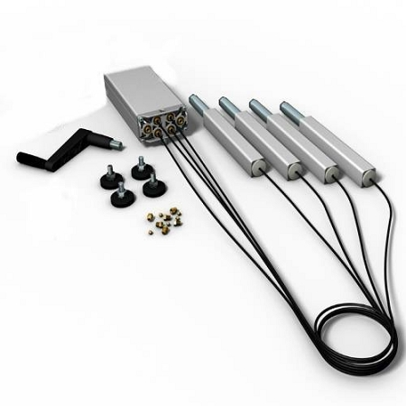 WaveRoom Plus QS Crank 4 - 150 Ergonomic Hydraulic Bench Lift System