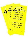 Botron B6720 Static Awareness - Hanging Signs