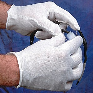 WaveRoom Plus 40.025 Cotton Inspection Gloves (mens)
