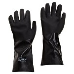 GVC-7714 Best® Showa - Black Knight Gloves (PVC W/ Flock Liner, 14