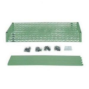 "Metro EZ1848NK3-4 Convenience Pak Super-Erecta® Wire Shelving - MetroSeal 3™ (18"" W x 48"" L x 74-1/2"" H) - 4 Shelves"