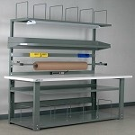 WaveRoom Plus P7230BSZ Packaging Bench (Plastic Laminate - 72