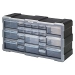 Quantum PDC-22BK Plastic Drawer Cabinet (22 Drawer Cabinet)