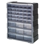 Quantum PDC-39BK Plastic Drawer Cabinet (39 Drawer Cabinet)