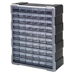 Quantum PDC-60BK Plastic Drawer Cabinet (60 Drawer Cabinet)