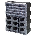 Quantum PDC-930BK Plastic Drawer Cabinet (9 Bin & 30 Drawer Cabinet)