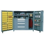 Lyon 1101F All-Welded Shelf, Bin and Modular Drawer Cabinet (60