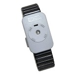SCS 2384 Dual Conductor Wrist-Strap (Small, Black, Metal, Wrist-Strap ONLY)