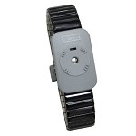 SCS 2385 Dual Conductor Wrist-Strap (Medium, Black, Metal, Wrist-Strap ONLY)