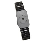 SCS 2386 Dual Conductor Wrist-Strap (Large, Black, Metal, Wrist-Strap ONLY)