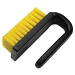 Menda 35689 Dissipative Nylon Brush (Curved Handle, 3