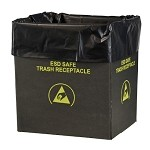 Protektive Pak 37820 Static Dissipative Trash Receptacle Liners (26