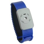 SCS 4720 Dual Conductor Wrist-Strap (Blue, Thermoplastic, Wrist-Strap ONLY)