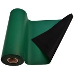 SCS 770084 R3 Series - 2-Layer Rubber Table Mat (4' W x 50' L - Green)