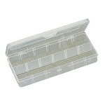 Eclipse 900-039 Plastic Box W/ Dividers (Up to 12 Compartments)