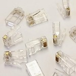 WaveRoom 902-550-100 Un-Shielded CAT6 Connector Pack (100 pc.)