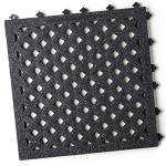 Ergo Advantage AG2 Series Safety Tile System (Open Cell Tile W/ Grit Surface, 18