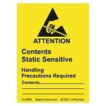SCS Static Awareness Labels -