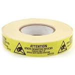 Botron Static Awareness Labels - MIL-STD-129M Label (Permanent Labels)