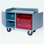Lyon DD900 All-Welded Mobile Work Center W/ Drawers (48