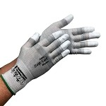 Transforming Technologies GL2500T Series ESD Cut-Resistant Gloves (Fingertip Coated, XS - 2XL)