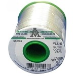 AIM SAC305 No-Clean GlowCore Wire Solder (2.5% Flux Core)