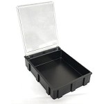 Transforming Technologies SM0883 Static-Safe SMD Storage Box w/ Transparent Lid 2-43/64