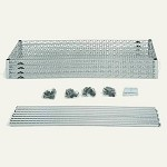 Metro EZ1836BR-4 Convenience Pak Super-Erecta® Wire Shelving - Brite (18