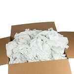 WaveRoom Plus DW022 Cotton Rags (Low-Lint, 50 lb. Box)