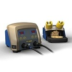 Hakko FX889-04 Dual Port Soldering Station (Station Only - Hand Pieces & Tips Sold Separate)