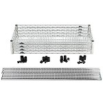 Metro EZ2448NC-4 Convenience Pak Super-Erecta® Wire Shelving - Chrome (24