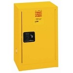 Lyon 74-R5473 Flammable Liquid Storage Cabinet (12-Gallon, 23-1/4