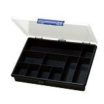 WaveRoom Plus SB-2419 Compartment Storage Box w/ 10 Fixed Compartments (9.4