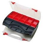 WaveRoom Plus SB-3428SB Double-Sided Compartment Storage Case (13.6
