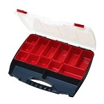 WaveRoom Plus SB-4536B Compartment Storage Case w/ Removable compartment bins (17.7