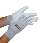 Transforming Technologies Palm-Coated ESD Inspection Gloves