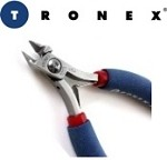 Tronex 7311 Mini Oval Cutter - Long Ergonomic Handle Semi-Flush