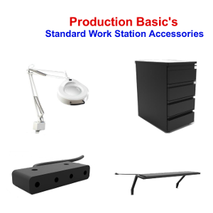 Standard Work Station Accessories