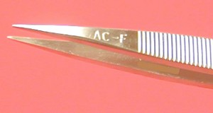 Viola AC(F)-SA TWEEZERS Style AC(F), St. Steel, Anti-Magnetic, Anti-Acid