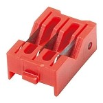 WaveRoom Plus 902-324 Coaxial Cable Stripper Replacement Cassette (Red)