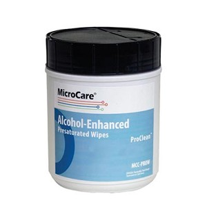MicroCare MCC-PROW PRESATURATED STENCIL WIPES FEATURING PROCLEAN 100/tub