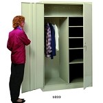 Lyon 1033-SU Combination Wardrobe Cabinet (48