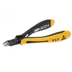 Aven 10823S ESD-Safe Large Oval Head Cutters (Semi-Flush Cut, .42