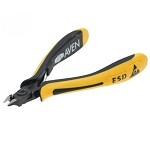 Aven 10828F ESD-Safe Mini-Tapered Relief Head Cutter (Flush Cut, .28